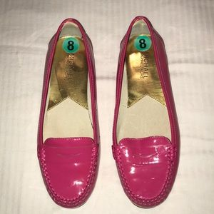 Hot pink Michael Kors loafers